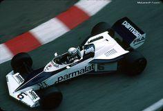 Riccardo Patrese, Brabham BT52, 1983 Monaco GP