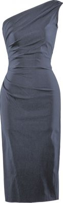 Retro Celebrity dress in black, Asymmetrical Neckline - Stop Staring! Clothing rockabilly dresses are awesome!