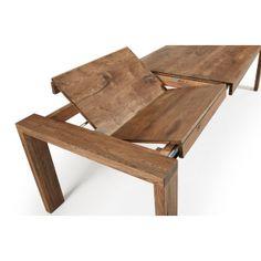 Spisebord med ben og bordplate i massiv eik med antikk finish. Maksimal lengde 280 cm . $22,523.00