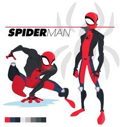 B9 Design: Spiderman Redesign Contest entry