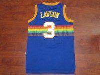 Denver Nuggets NBA Blue #3 Ty Lawson Soul Swingman Jersey [F369]