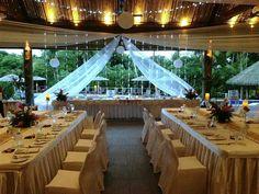 My wedding setup @ Vahavu, The Outrigger Fiji Reception Table, Wedding Receptions, Wedding Set Up, Dream Wedding, Wedding Ideas, Fiji, Maid Of Honor, Big Day, Wedding Planning