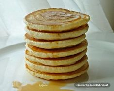 ~ Recepti i Ideje Croatian Recipes, Bread And Pastries, Dessert Recipes, Desserts, Pancakes, Easy Meals, Cooking Recipes, Cookies, Breakfast