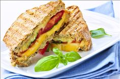 Gourmet Grilled Cheese with Peach Apricot Preserves