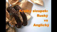 Krátký sloupek: Ruský vs Anglický / Double Crochet: Russian vs English