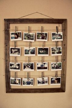 diy photo wall ideas without frames photo wall idea vintage photo frame diy wall picture frame ideas Home Projects, Home Crafts, Diy Home Decor, Room Decor, Diy Crafts, Diy Interior, Interior Decorating, Decorating Ideas, Decor Ideas