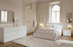 all white bedroom funiture sets White Bedroom Furniture sets Design Living Room Modern, Home Living Room, Modern Bedrooms, Neutral Bedrooms, Small Living, Home Bedroom, Bedroom Decor, Bedroom Ideas, Mirror Bedroom