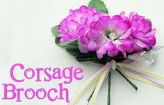 Corsage Brooch perfect for Mothers Day