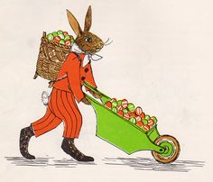 Everything About Easter Rabbits by my vintage book collection (in blog form), via Flickr
