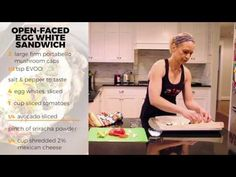 Open faced Egg White Sandwich- RP Kitchen with Lori Shaw - YouTube