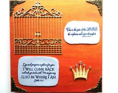Verses Plaque. This is the gate of the LORD... Psalm by WordofGod, $26.00