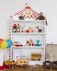 BILLY Regal als Spielhaus oder IKEA Kaufladen - Limmaland - Kleben. Spielen. Leben. www.limmaland.com