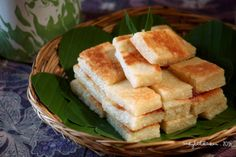Sashy Little Kitchen: Wingko Babat (Indonesian Coconut Cake)