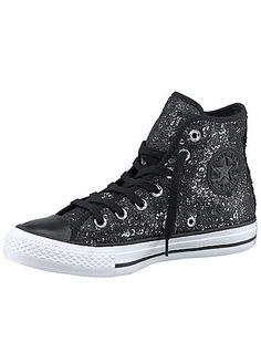 Ctas Femmes Noeud Slip Noir / Blanc Sur Converse Baskets oafy1HaZDu