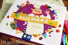 Di gotuje: Kucharz - edukacyjna gra planszowa dla dzieci
