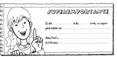 En un rincón de mi aula de Infantil: Notas para padres Notes To Parents, Spanish Immersion, Teacher Notes, Science, Teaching Spanish, Just Kidding, Pre School, Homeschool, Classroom