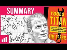 TOOLS OF TITANS, book summary animation, by Tim Ferriss - YouTube