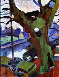 The Old Tree      André Derain - 1904-1905