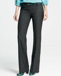 Modern Glen Plaid Trousers