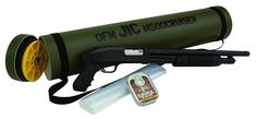 "G & H Outdoor Store | Mossberg 500 JIC Cruiser Pump 12 Gauge 18.5"" Barrel 3"" Chamber Black Synthetic, Blue Finish"