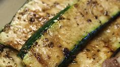Balsamic Grilled Zucchini - tried it for the first time tonight and this recipe is a keeper!  It adds enough different flavor for non-zucchini eaters to like it.