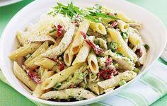 Yummy Meals: Pesto chicken and pasta salad