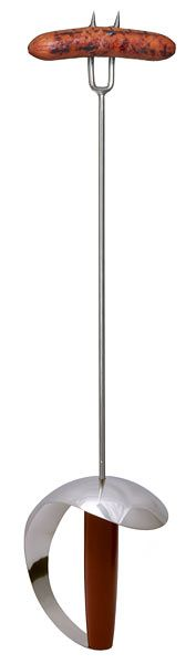 BBQ Sword. Hey show it with a hot dog but I imagine it with marshmallows at a campfire. #camping #roasting #marshmallows
