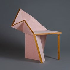 The Oru Chair - second product from The Oru Series designed by Aljoud Lootah and showcased at Design Days Dubai.