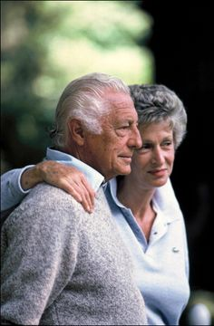 Gianni and Marella Agnelli in 1986 - Lapo's Grandfathers