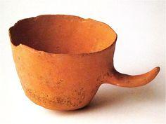 Isamu Noguchi Tea Cup prototype Terra-cotta 1950-60 Collection of the Estate of Isamu Noguchi