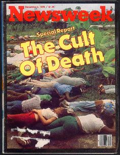 Two days before November 18th 1978, Jonestown was a cult where there had been no mass (or singular) killing, and the day after, it was still a cult. Description from scienceblogs.com. I searched for this on bing.com/images