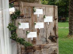#Cadelach #Wedding #reception  assegnazione tavoli #tableau de #mariage http://www.cadelach.it/wedding.php