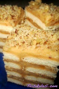 posni keks kolac Posni karamel keks kolač