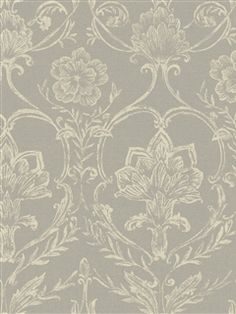 I pinned this Sheer Fabric Damask Wallpaper in Silver from the French Dressing event at Joss & Main! French Wallpaper, Luxury Wallpaper, Damask Wallpaper, Wallpaper Samples, Pattern Wallpaper, Damask Decor, Wallpaper Manufacturers, Art Story, Sheer Fabrics