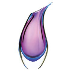 WOW.... I want this Metamorphosis Vase!  Love the purple and indigo colors!!!!