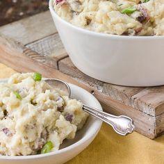 Side Dish Recipe: Smashed Potatoes with Gouda and Horseradish   Kitchn