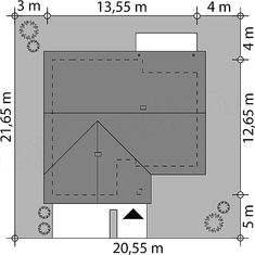 Rzut projektu Niko Case, Bar Chart, Floor Plans, Bar Graphs, Floor Plan Drawing, House Floor Plans