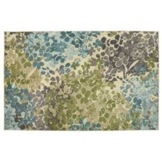 Mohawk Home Radiance Abstract Floral Rug
