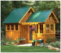 11 Free Garden Shed Plans