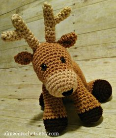 Hey, I found this really awesome Etsy listing at https://www.etsy.com/listing/287900977/crochet-arigurumi-deer-stuffed-animal