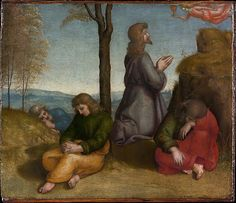 The Agony in the Garden by Raphael