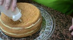 Almibar para mojar bizcochos para tartas