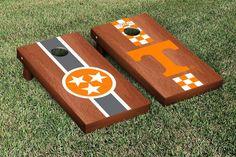 Tristar Tennessee Vols Rosewood Split Cornhole Game Set