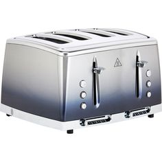 This midnight blue toaster from Russell Hobbs has 4 slots and has a reheat option, easy-to-use slider controls, and a Lift & Look feature. Combination Microwave, Hobbs, Midnight Blue, New Kitchen