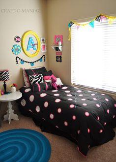 Girls Bedroom Decor #bedroom