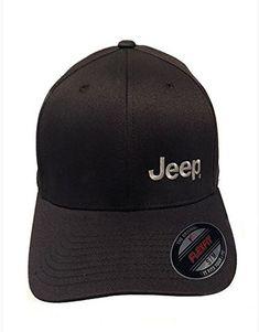 af79f57eb8ff5 Jeep Hat Dark Brown Flexfit with Jeep Logo