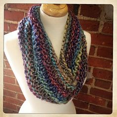 Darn Knit Kinetic Cowl by Carly Stipe via Ravelry