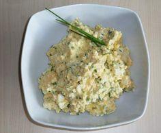 Rezept Eieraufstrich von Ines Wepunkt - Rezept der Kategorie Saucen/Dips/Brotaufstriche Egg Salad, Potato Salad, Nacho Dip, Party Buffet, Food Website, Dips, Pesto, Risotto, Brunch