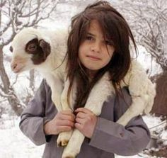 Girl from Northern Areas of Pakistan