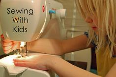 corduroyscloset: Sewing With Kids-Sewing Space